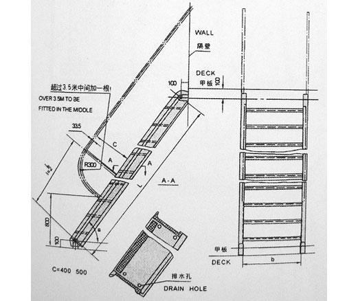 般用钢质斜梯